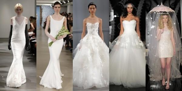 Abiti sposa 2016 tendenze vestiti da sposa primavera estate 2014 acessori sposa