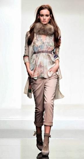 Blusa collezione abbigliamento Twin Set autunno inverno 2014