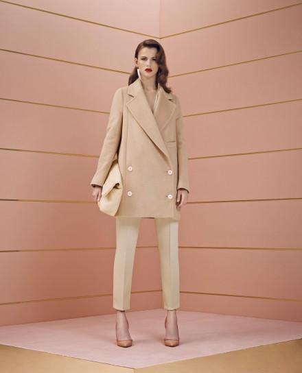 Cappotto Elisabetta Franchi collezione autunno inverno 2014