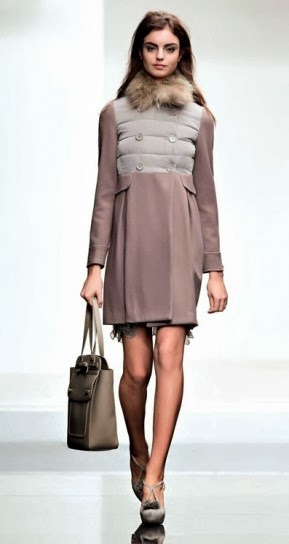 Cappotto imbottito collezione abbigliamento Twin Set autunno inverno 2014
