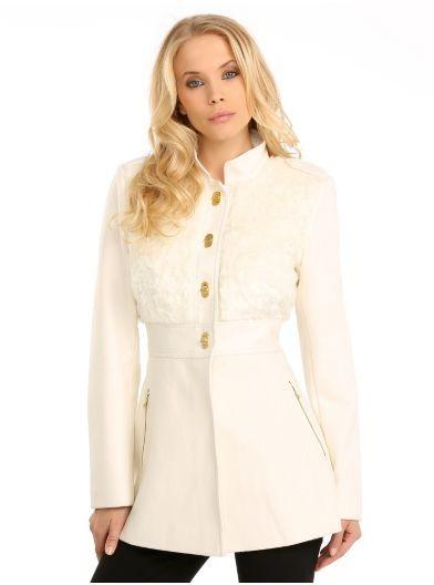 Cappotto in misto lana Guess autunno inverno 2014