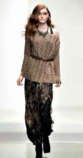 Gonna camo collezione abbigliamento Twin Set autunno inverno 2014