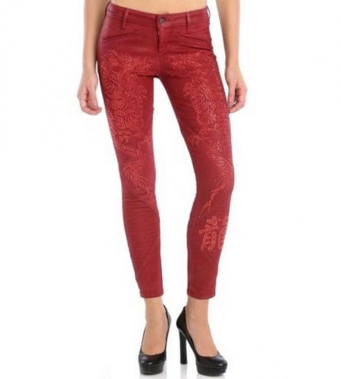 Jeggings stampati Guess autunno inverno 2014
