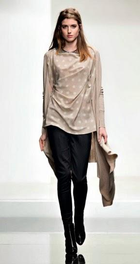 Maglia a pois collezione abbigliamento Twin Set autunno inverno 2014