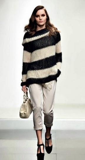 Maglione d lana collezione abbigliamento Twin Set autunno inverno 2014