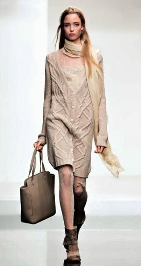 Maxi cardigan collezione abbigliamento Twin Set autunno inverno 2014