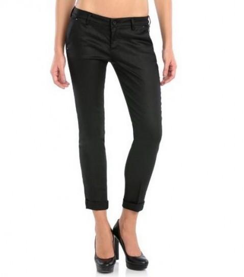 Pantaloni neri chino Guess autunno inverno 2014