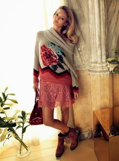 Pullover collezione abbigliamento Twin Set autunno inverno 2014