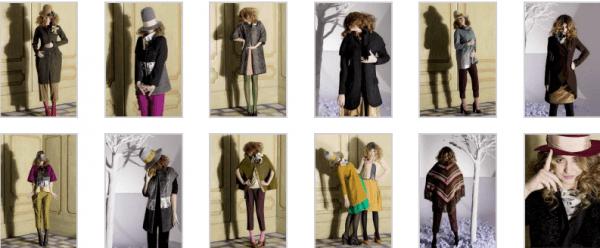 Rosé a Pois abbigliamento collezione autunno inverno 2014