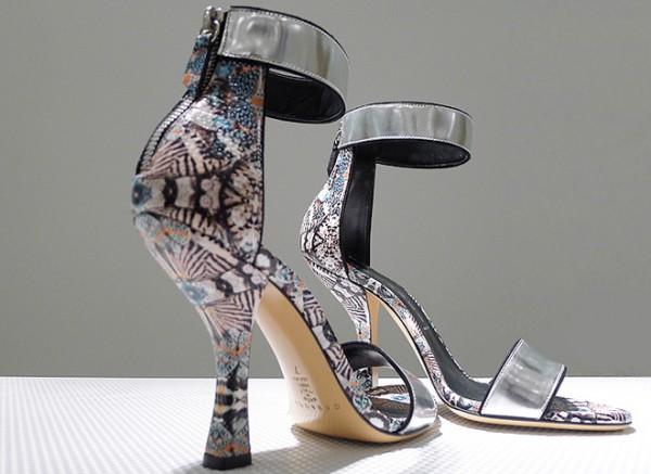 Scarpe stampate Casadei primavera estate 2014
