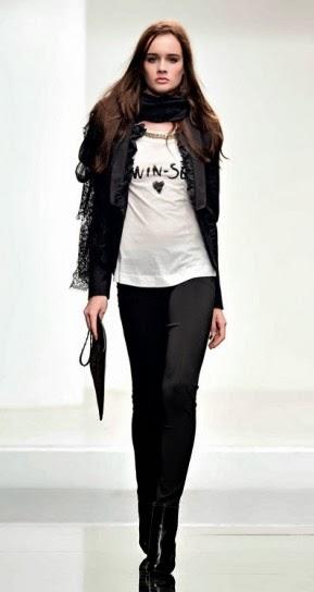 T-shirt collezione abbigliamento Twin Set autunno inverno 2014