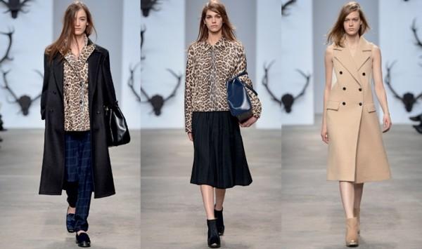 Trussardi abbigliamento collezione autunno inverno 2014