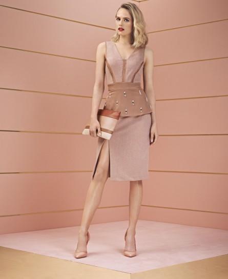 Vestito Elisabetta Franchi collezione autunno inverno 2014