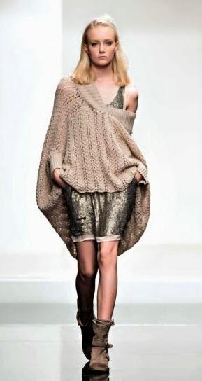 Vestito paillettes collezione abbigliamento Twin Set autunno inverno 2014