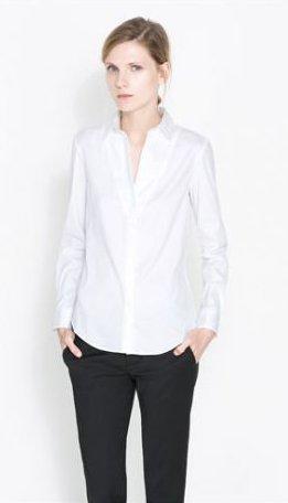 Camicia clasica Zara primavera estate 2014