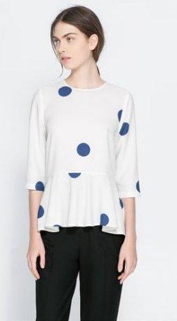 Camicia con basco Zara primavera estate 2014