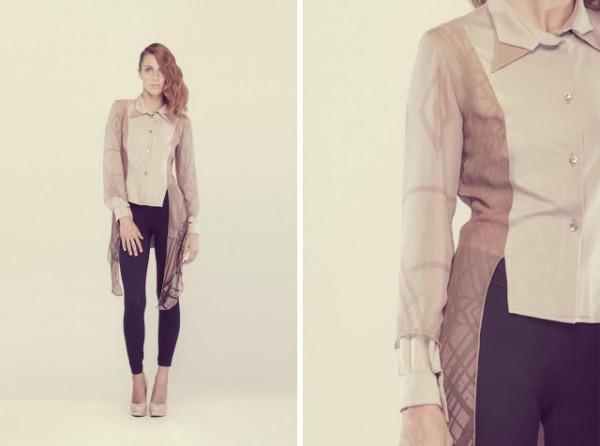 Camicia particolare Nientaltro primavera estate 2016
