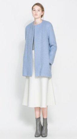 Stile Primavera Zara Lunga Online 2014Moda Con Giacca Estate FJlcTK1