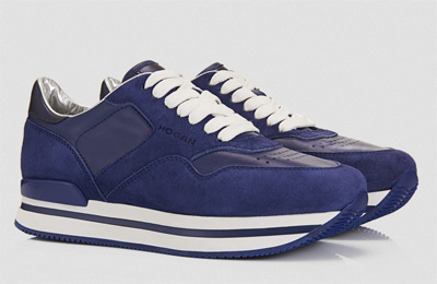 H222 blue sneakers Hogan primavera estate 2014