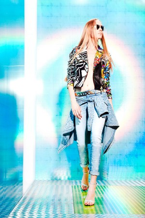 Jeans Just Cavalli primavera estate 2014