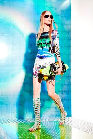 Just Cavalli collezione abbigliamento primavera estate 2014
