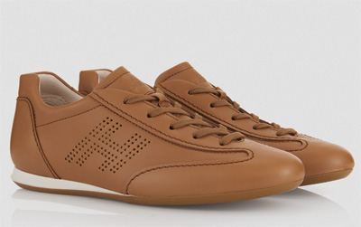 Olympia soft leather sneakers Hogan primavera estate 2014