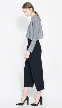 Pantaloni eleganti Zara primavera estate 2014