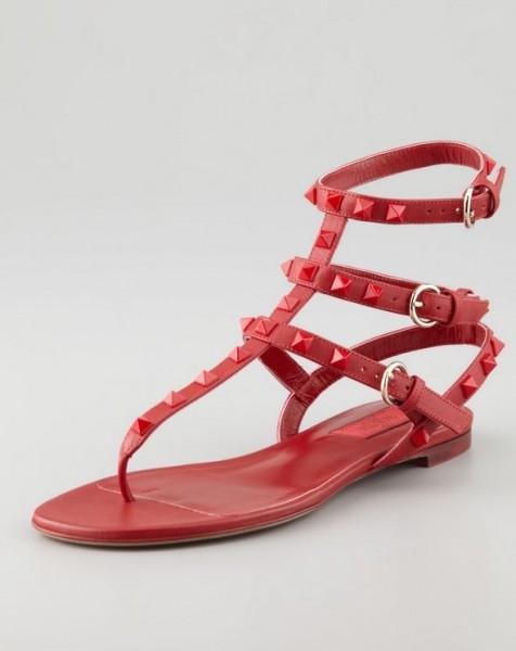 2014Moda Online Bassi Primavera Stile Sandali Con Valentino Estate OTkXiZPu