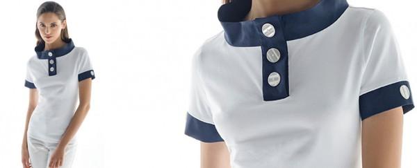 Nara Camicie primavera estate 2016 camicia donna bicolore
