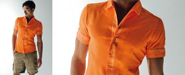 Nara Camicie primavera estate 2016 camicia uomo manica corta