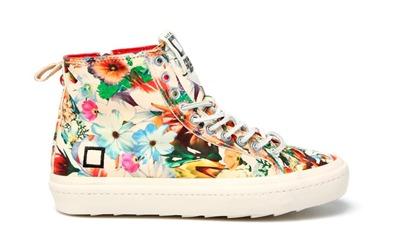 Sneakers D.A.T.E. nuovi modelli flower