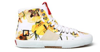 Sneakers D.A.T.E. stampate
