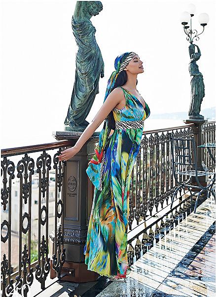 Vestito stampato Cannella primavera estate 2014