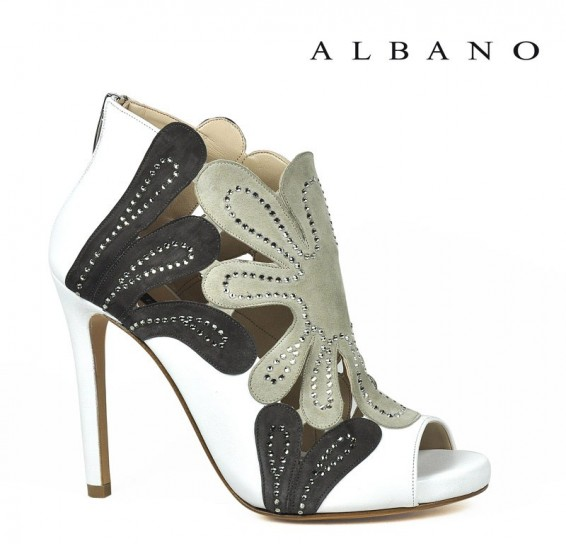 Ankle boots open toe Albano primavera estate