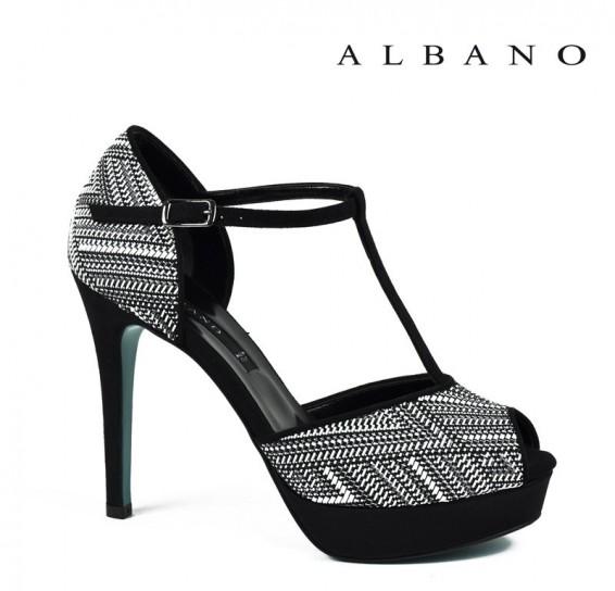 Sandalo t-bar effetto optical Albano primavera estate