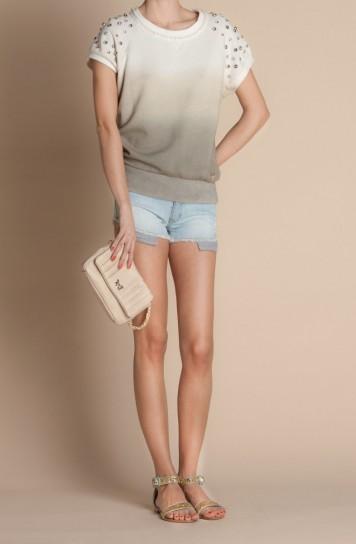 Felpa con borchie e shorts Atelier Fix Design primavera estate