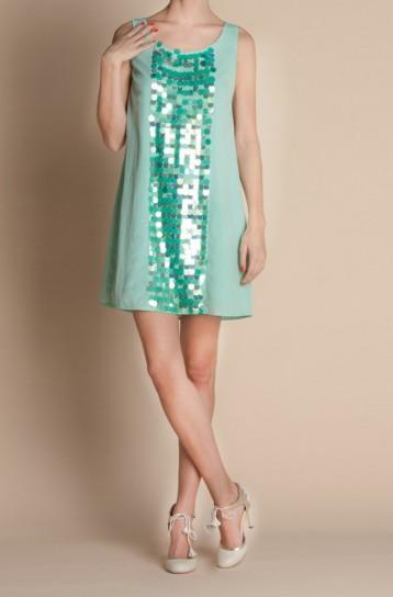Minidress con paillettes Atelier Fix Design primavera estate