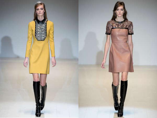 Abbigliamento donna Gucci autunno inverno 2014 2015