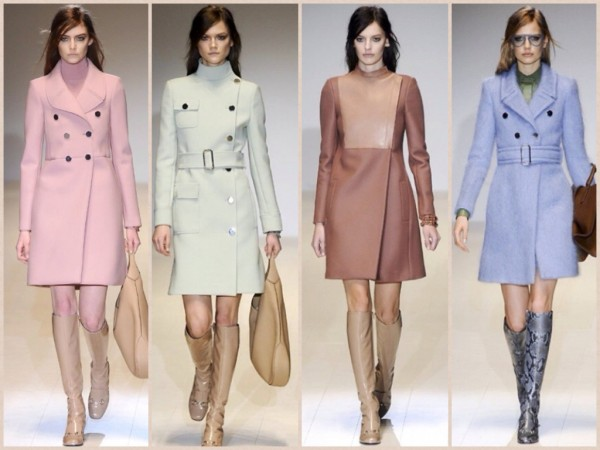 Cappotti Gucci autunno inverno 2014 2015
