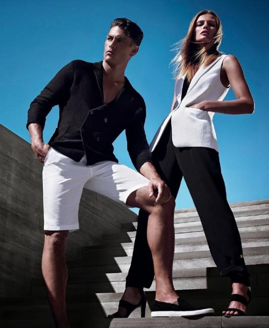 Collezione Calvin Klein primavera estate 2014