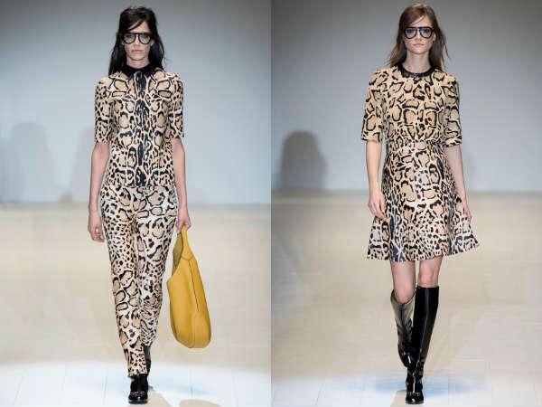 Completi Gucci autunno inverno 2014 2015