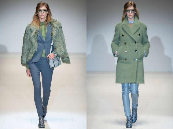 Pantaloni Gucci autunno inverno 2014 2015