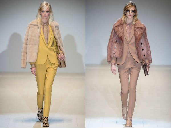 Pelliccie Gucci autunno inverno 2014 2015