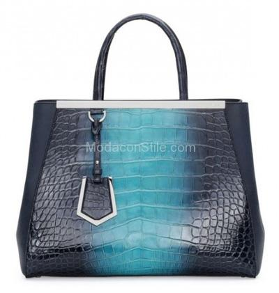 2jours croc leather shades blue Fendi autunno inverno 2014 2015