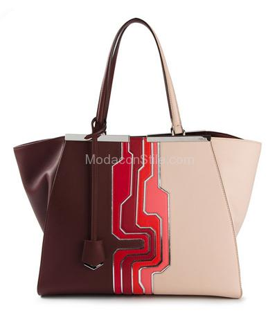 3 jours tote bag Fendi autunno inverno 2014 2015