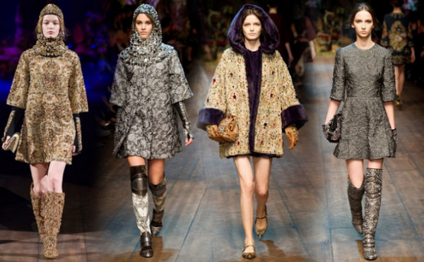 Abbigliamento Dolce & Gabbana autunno inverno 2014 2015