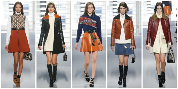 Abbigliamento Louis Vuitton autunno inverno 2014 2015