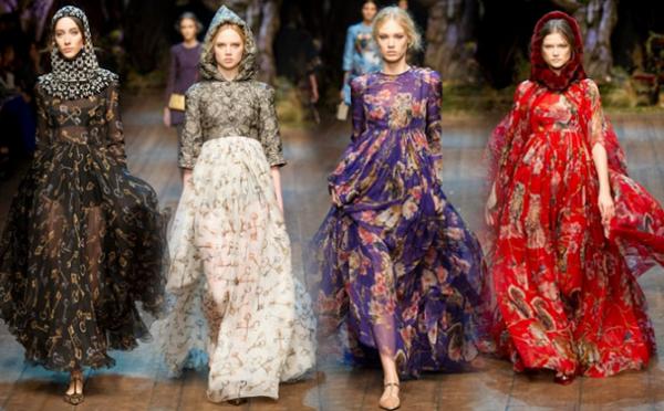 Abiti Dolce & Gabbana autunno inverno 2014 2015