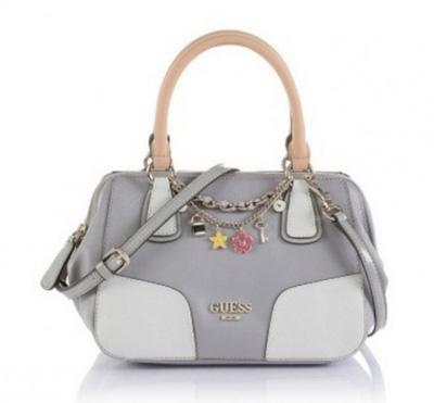 Borsa satchel con charms Guess primavera estate 2014