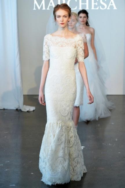Bridal collection Marchesa 2015